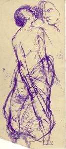 1960's. P., ink, pen.