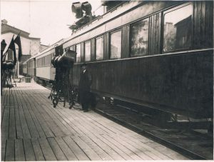 Павел Зальцман. Киносъёмки. Ленинград. 1930-е.