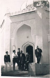Ташкент. Апрель 1939. Зальцман - слева.