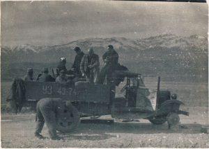 У Ходжикента. Апрель 1939