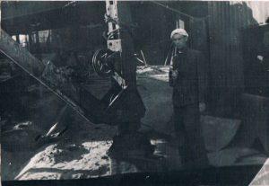 "Макеевка. Съемки фильма ""Отец и сын"". Июль-август 1940."