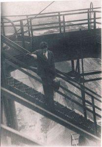 """Съёмки фильма """"Отец и сын"""". Мариуполь. Июль 1940."""