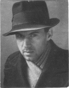 Павел Зальцман. Алма-Ата. 1945.