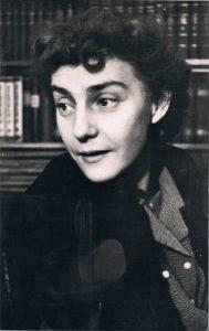 Ирина Николаевна Переселенкова. 1950-е.