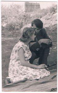 Павел Зальцман и Ирина Переселенкова. 1950-е.