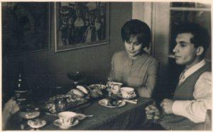 Юлия и Юрий Туманяны. Алма-Ата.1960-е.