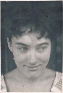 Елена (Лотта) Зальцман. Алма-Ата. 1961.