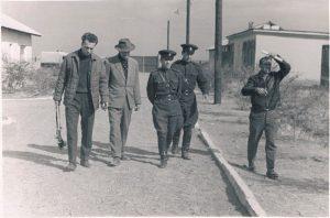 На съемках фильма «Там, где цветут эдельвейсы». Заилийский Алатау. 1965. Павел Зальцман - второй слева.