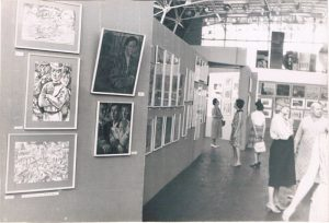 1983. Выставка в Союзе художников. Алма-Ата.1983.
