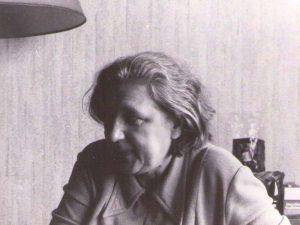 Татьяна Струве, племянница Павла Зальцмана. Париж. 1995.