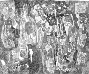 Prophet. 1967. P., ink, pen. 55.5x61.5.