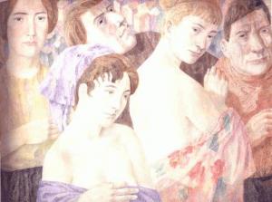 Autumn. 1968-1973. P., watercolor.