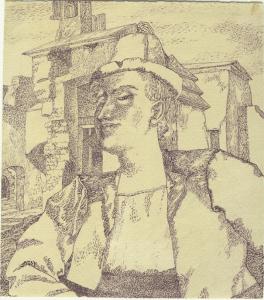 Winner. 1940. P., ink. 19х17.