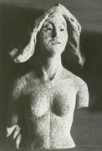 Женский торс. 1960-е. Пемза