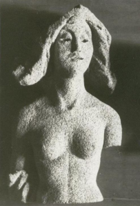 Woman's torso. 1960's. Pumice