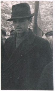 Павел Зальцман. Алма-Ата, 1948.