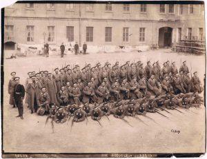 Групповая фотография, 59 Люблинский полк. 1900-е.