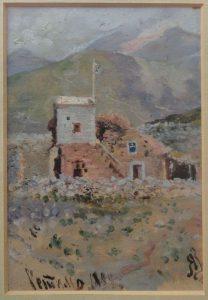 Ретимно. Крит. 1899. Картон, масло.