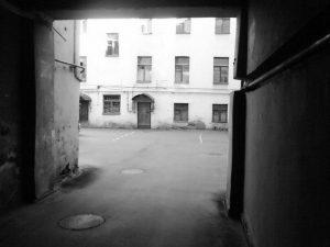 Дом, где с 1925 по 1942 жила семья Зальцманов. Загородный проспект, 16. Ленинград. Современная фотография.