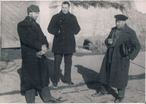 Stalinabad. December 1938. Zaltsmann - on the left.