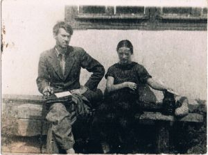 Rosa and Pavel Zaltsman. Hodzhikent. Summer of 1939.