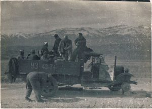 Near Hodzhikent. April 1939.
