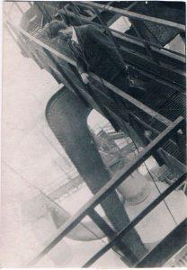"""Павел Зальцман. Съёмки фильма """"Отец и сын"""". Мариуполь. Июль 1940."""