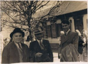 With colleagues at the film studio. Pavel Zaltsman - on the right. Kazakhstan. 1953.