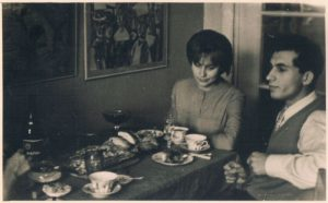 Julia and Yuri Tumanyan. Alma-Ata. 1960.