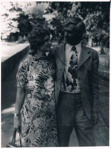 Павел Зальцман и Инна Казакова. Алма-Ата. 1975-1978.