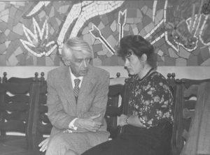 Павел и Лотта Зальцманы. Алма-Ата. 1980-е.