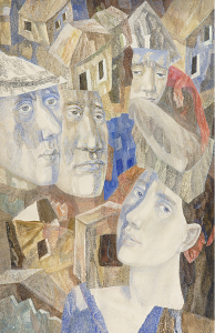Poets. 1967. P., watercolor.
