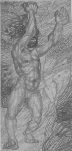 A Kern. Studies. 1931. P., pencil. 13х7.