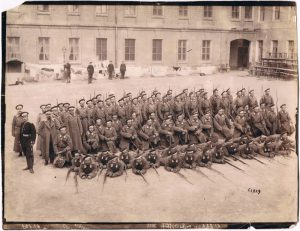 Group photo, 59th Lublin Regiment. 1900's.