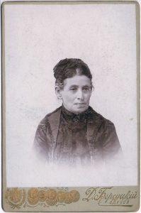 Неизвестная (мать М.Н. Зальцман).